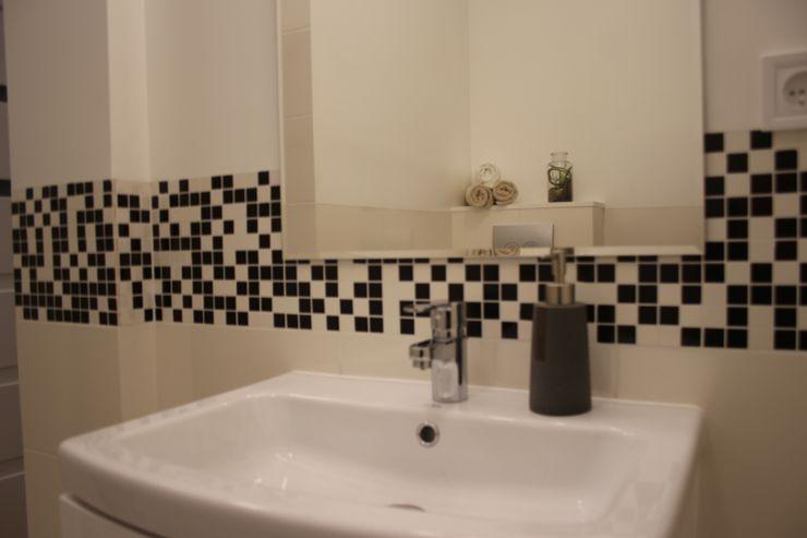 Koncepcja Wnętrz Modern Bathroom White