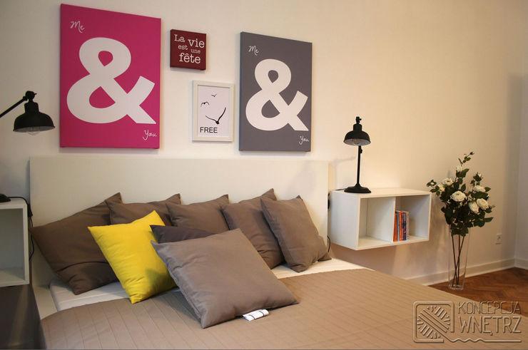 Koncepcja Wnętrz Modern Bedroom Beige