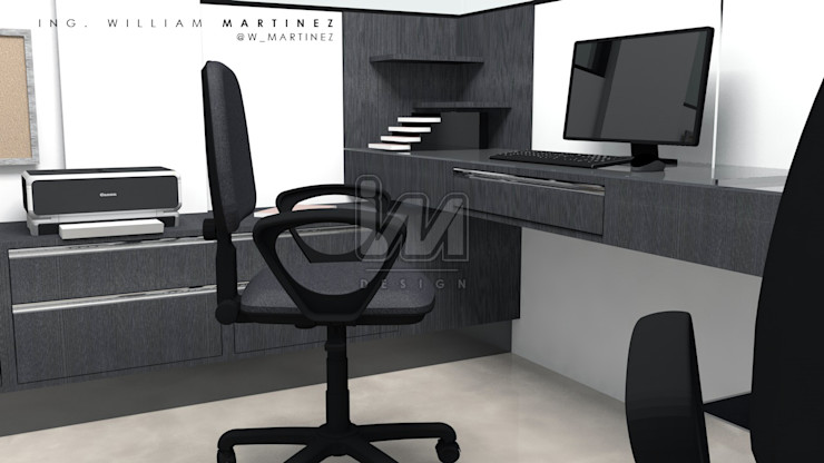 Ing. William Martinez Офисы и магазины в стиле модерн