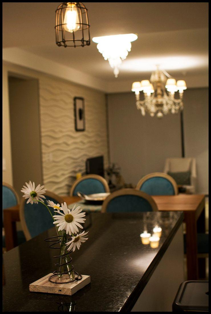 Diseñadora Lucia Casanova Eclectic style living room
