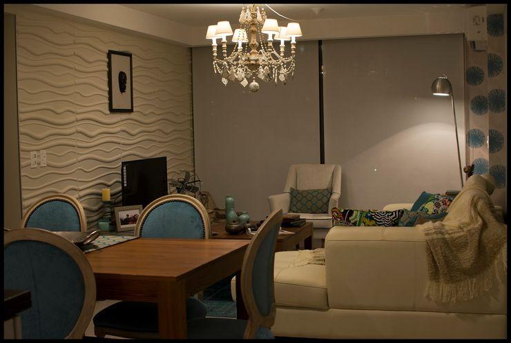 Diseñadora Lucia Casanova Eclectic style dining room