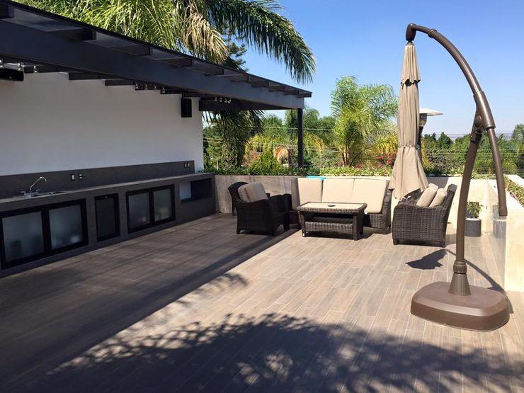 Arki3d Балкон и терраса в стиле модерн