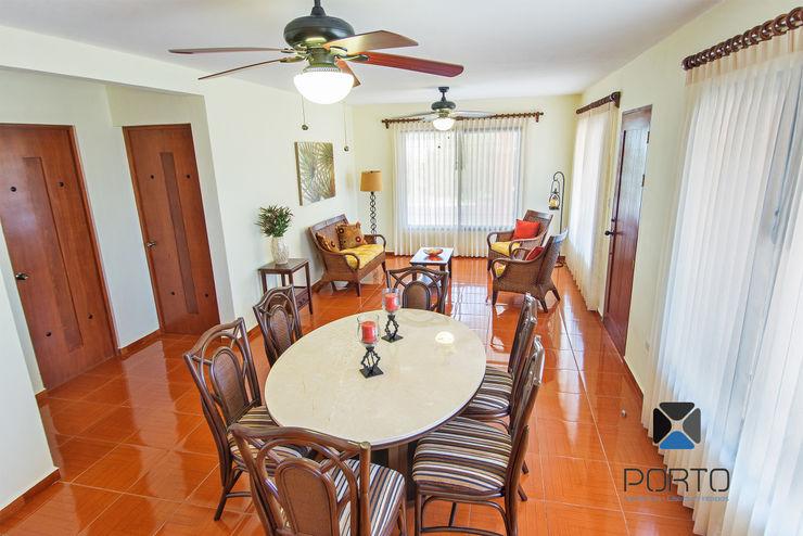 PORTO Arquitectura + Diseño de Interiores Colonial style dining room