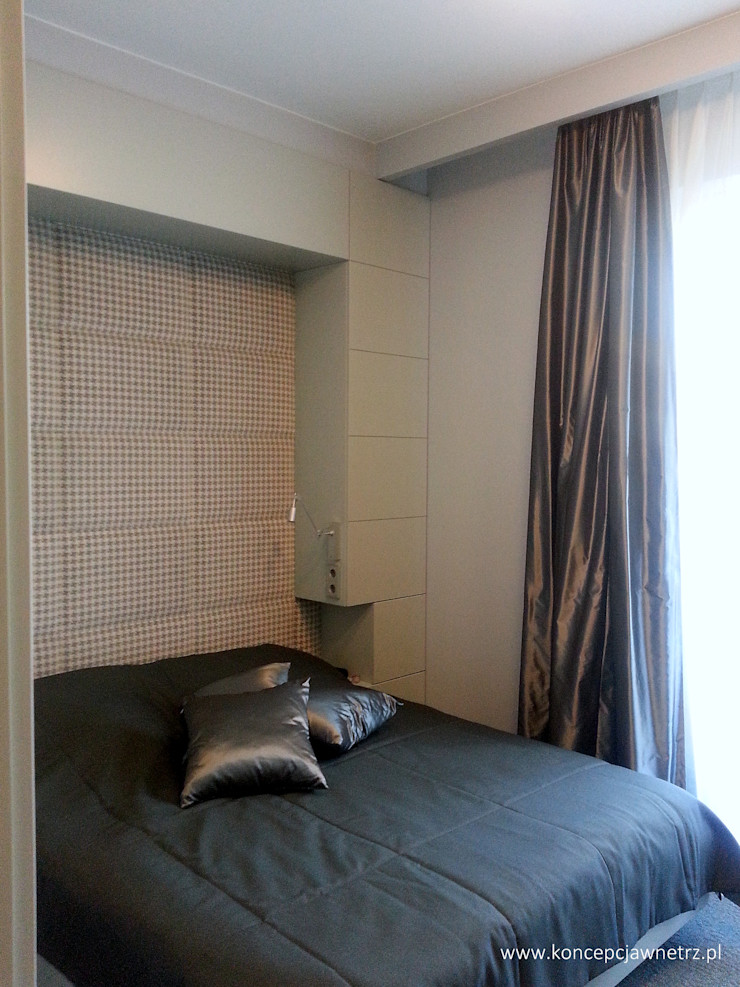 Koncepcja Wnętrz Modern Bedroom