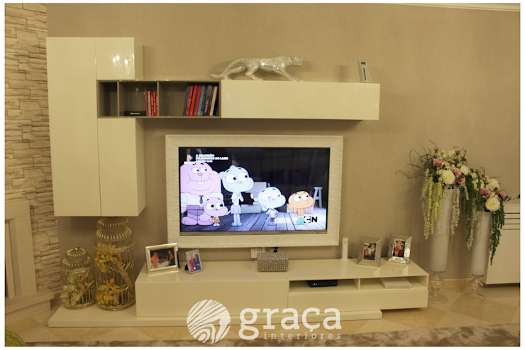Andreia Louraço - Designer de Interiores (Email: andreialouraco@gmail.com) SalonMeubles télévision & multimédia Blanc