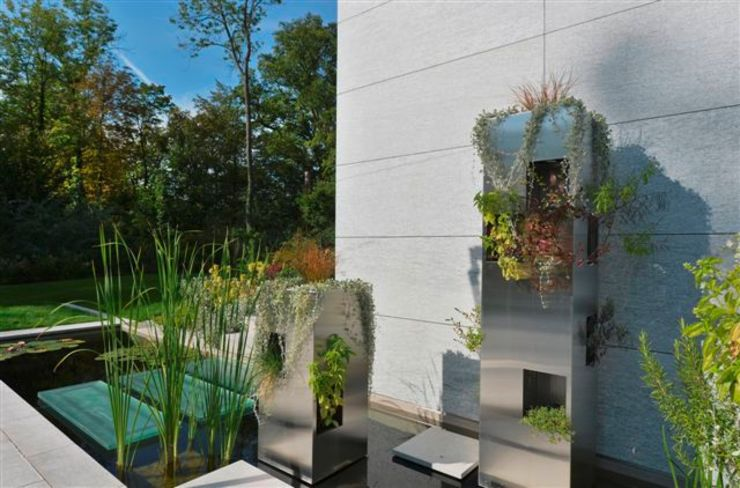Jardin contemporain LES ARCHITECTES DU PAYSAGE Jardin original