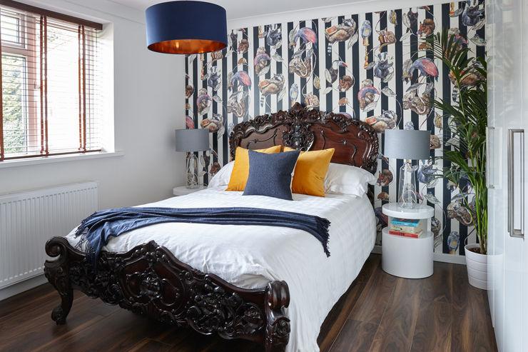 Virginia Water Apartment - Surrey Bhavin Taylor Design Modern style bedroom