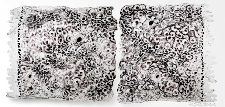 Ana Maria Nava Glass ArtworkSculptures Glass Black
