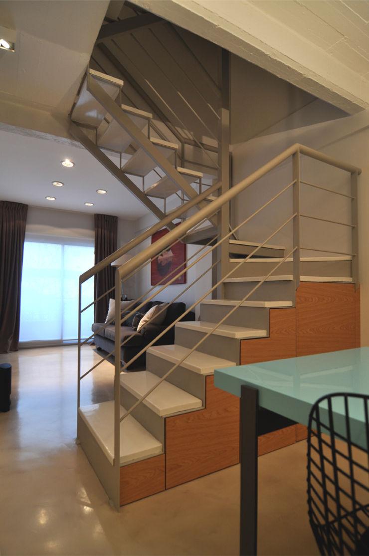 Matealbino arquitectura Koridor & Tangga Modern