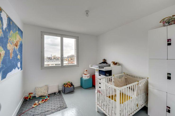 Paris 11 blackStones Chambre d'enfant scandinave Blanc