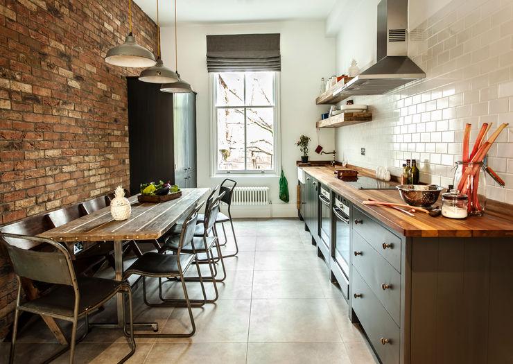W10 Kitchen by British Standard British Standard by Plain English 廚房 木頭 Black