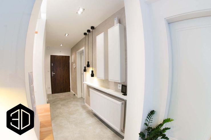 3D STUDIO Scandinavian corridor, hallway & stairs