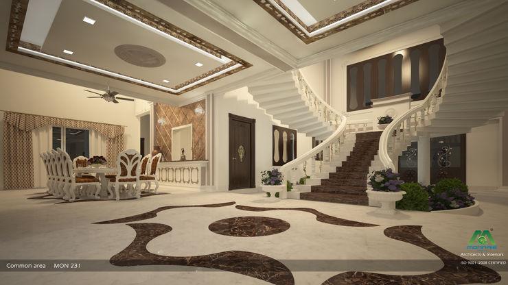 Common Area Premdas Krishna Asian style corridor, hallway & stairs