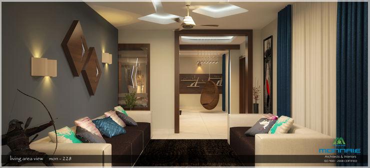 Premdas Krishna Moderne Wohnzimmer