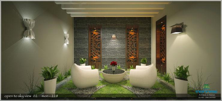 Premdas Krishna Moderner Balkon, Veranda & Terrasse