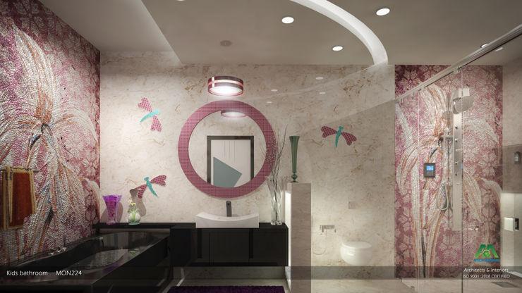 Kid's Bathroom Premdas Krishna 現代浴室設計點子、靈感&圖片