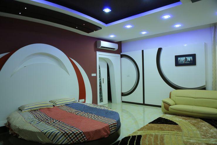 Premdas Krishna Dormitorios de estilo moderno