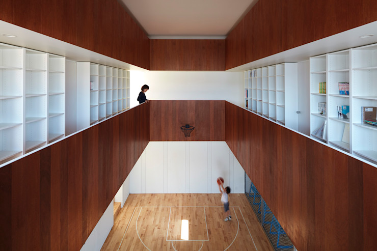 小泉設計室 Minimalist style gym