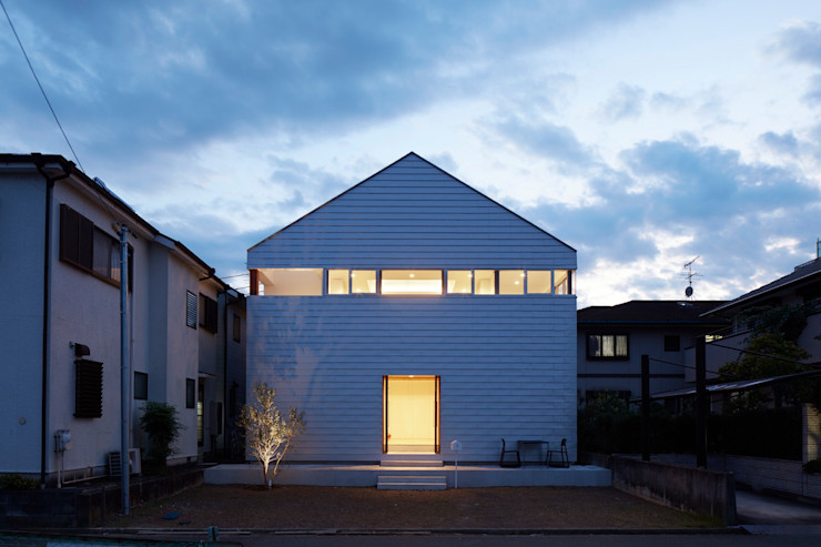 小泉設計室 Casas minimalistas