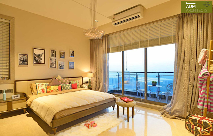 homify Country style bedroom Marble Beige