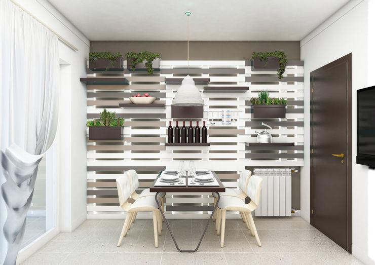 mumble studio Eclectic style kitchen