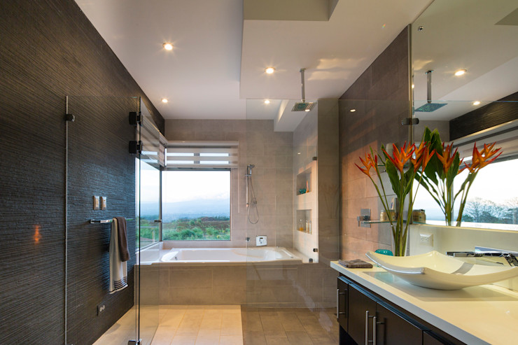 J-M arquitectura 모던스타일 욕실