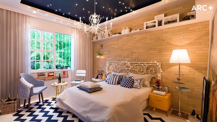 ARC+ Arquitetura 모던스타일 침실