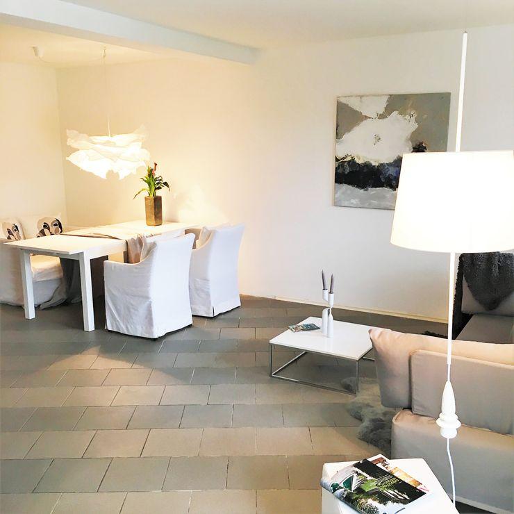 Münchner home staging Agentur GESCHKA Modern living room