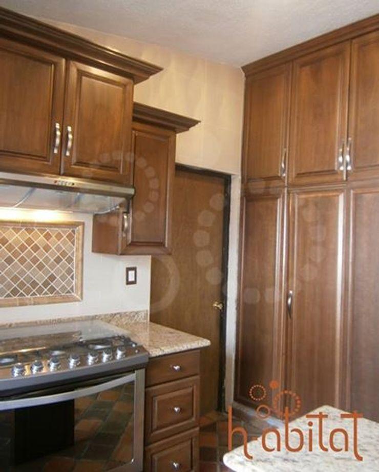 H-abitat Diseño & Interiores Kitchen