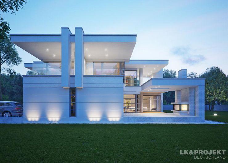LK&Projekt GmbH 모던스타일 주택