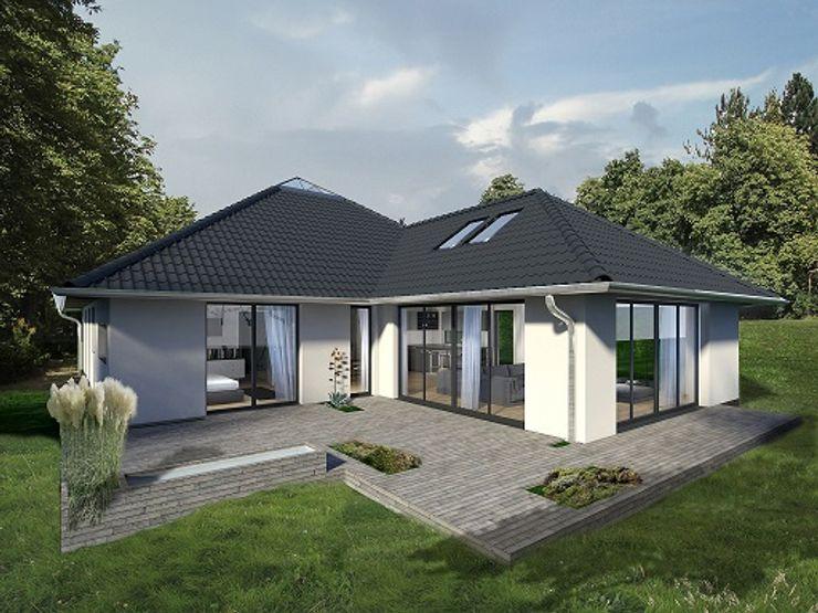 K-MÄLEON Haus GmbH Rumah Modern White