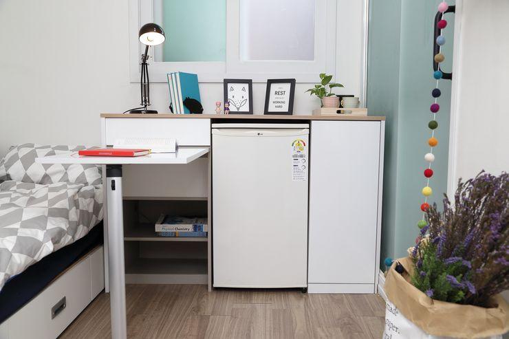 마이크로하우스 리모델링 OUA 오유에이 Modern kitchen