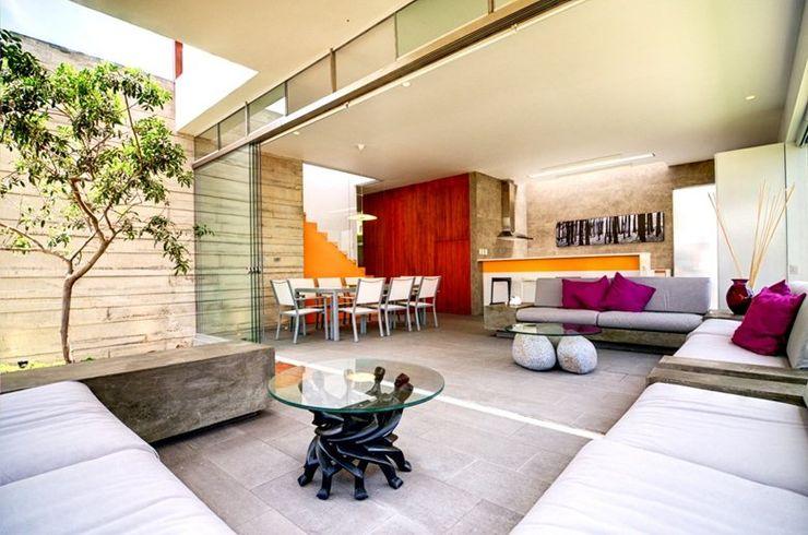 Casa Seta Martin Dulanto Modern living room