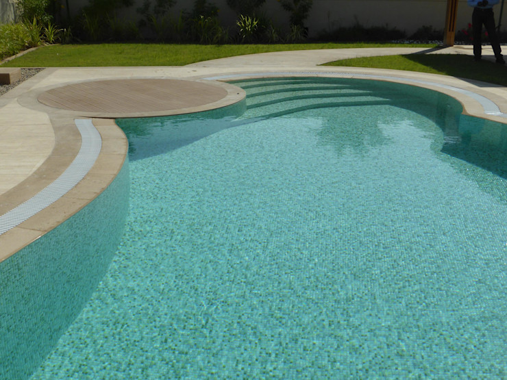 Pools   MOSAICS Kerion Ceramics Piscinas Cerámico Verde