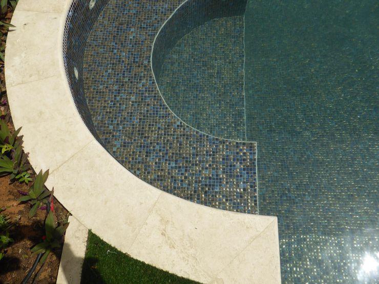 Pools   MOSAICS Kerion Ceramics Piscinas Cerámico Azul