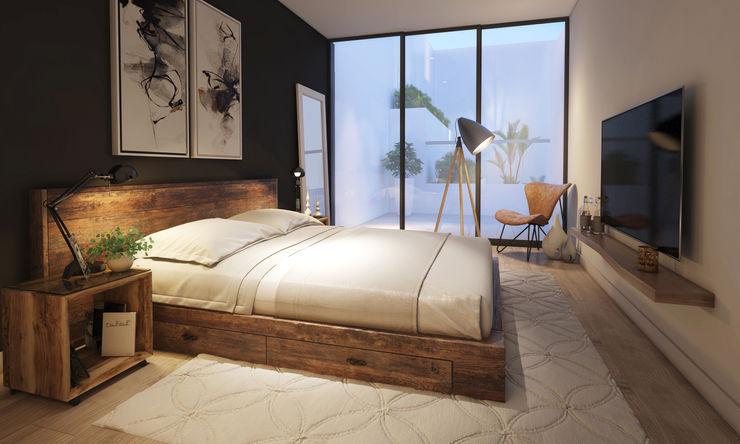 Dormitorio principal - COSMOPOLITA FABRE STUDIO