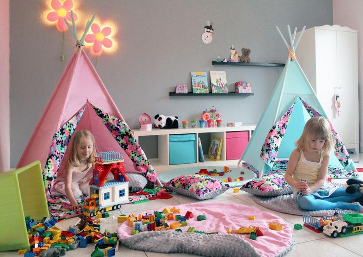 Shooting Photo Pois Multicolores s-line.design Chambre d'enfant minimaliste