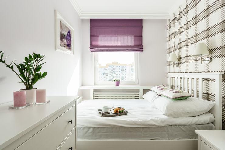 Anna Serafin Architektura Wnętrz غرفة نوم