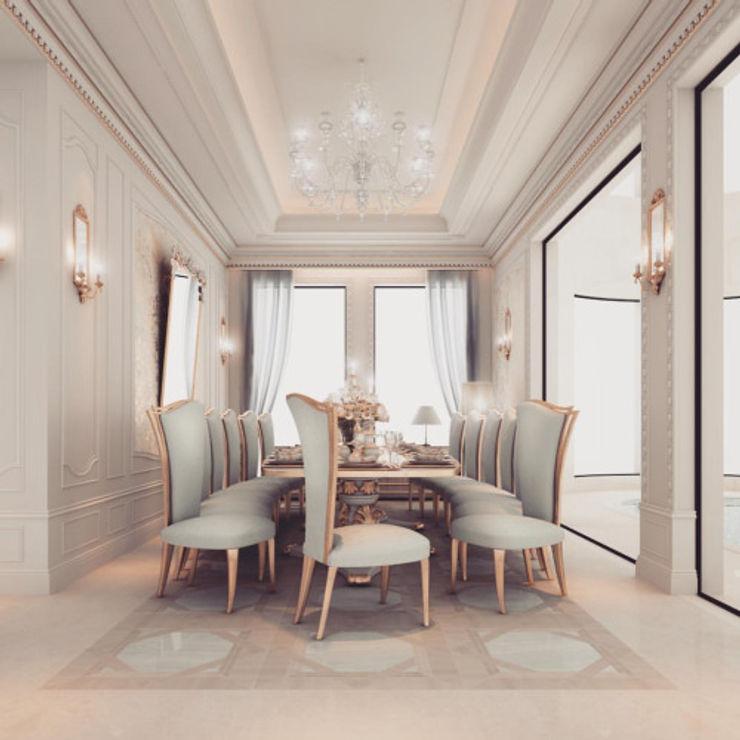 Interior Design & Architecture by IONS DESIGN Dubai,UAE IONS DESIGN Comedores de estilo clásico