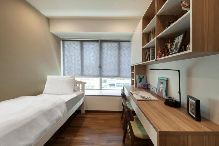 THE LIVIA homify 臥室