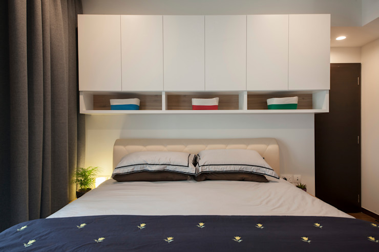 THE LIVIA homify Modern style bedroom