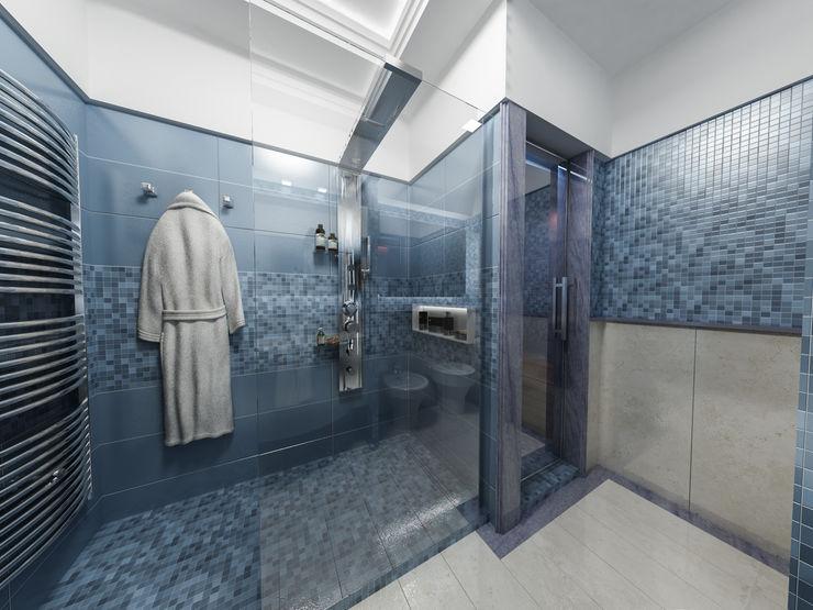 studiosagitair Casas de banho modernas