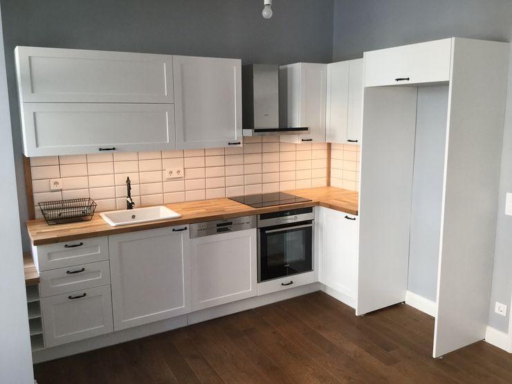 Plano Mimarlık ve Teknoloji Scandinavian style kitchen
