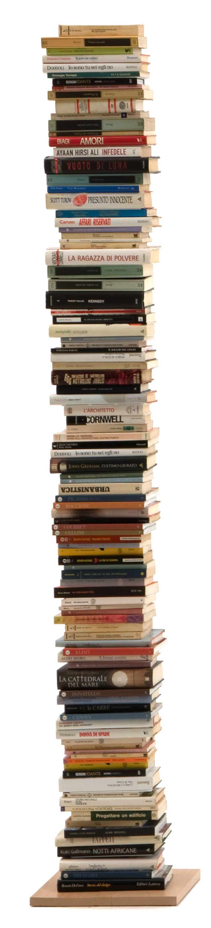 Zia Ortensia | Column bookshelf | h 195 cm Le zie di Milano HogarArtículos del hogar Madera maciza Acabado en madera