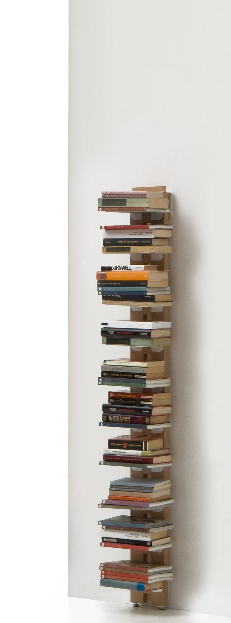 Zia Ortensia | Wall bookshelf | h 150 cm Le zie di Milano HogarArtículos del hogar Madera maciza Acabado en madera