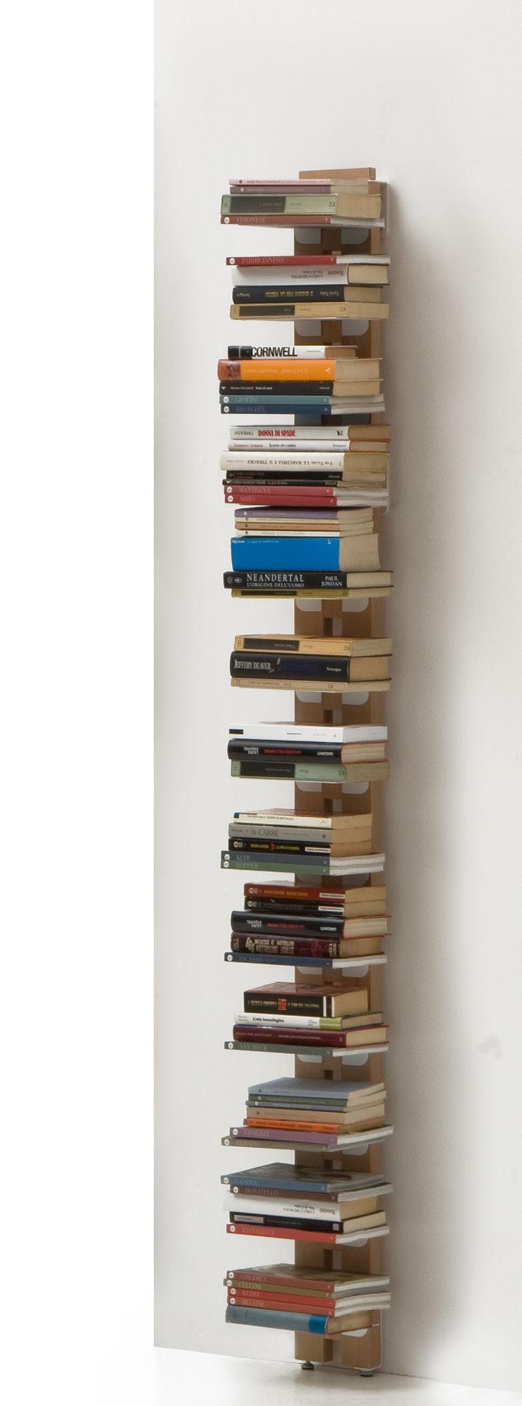 Zia Ortensia | Wall bookshelf | h 195 cm Le zie di Milano HogarArtículos del hogar Madera maciza Acabado en madera