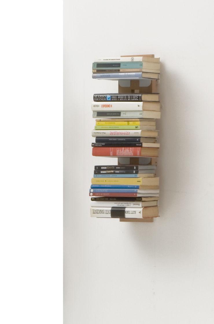 Zia Ortensia | Wall hung bookshelf | h 60 cm Le zie di Milano HogarArtículos del hogar Madera maciza Acabado en madera