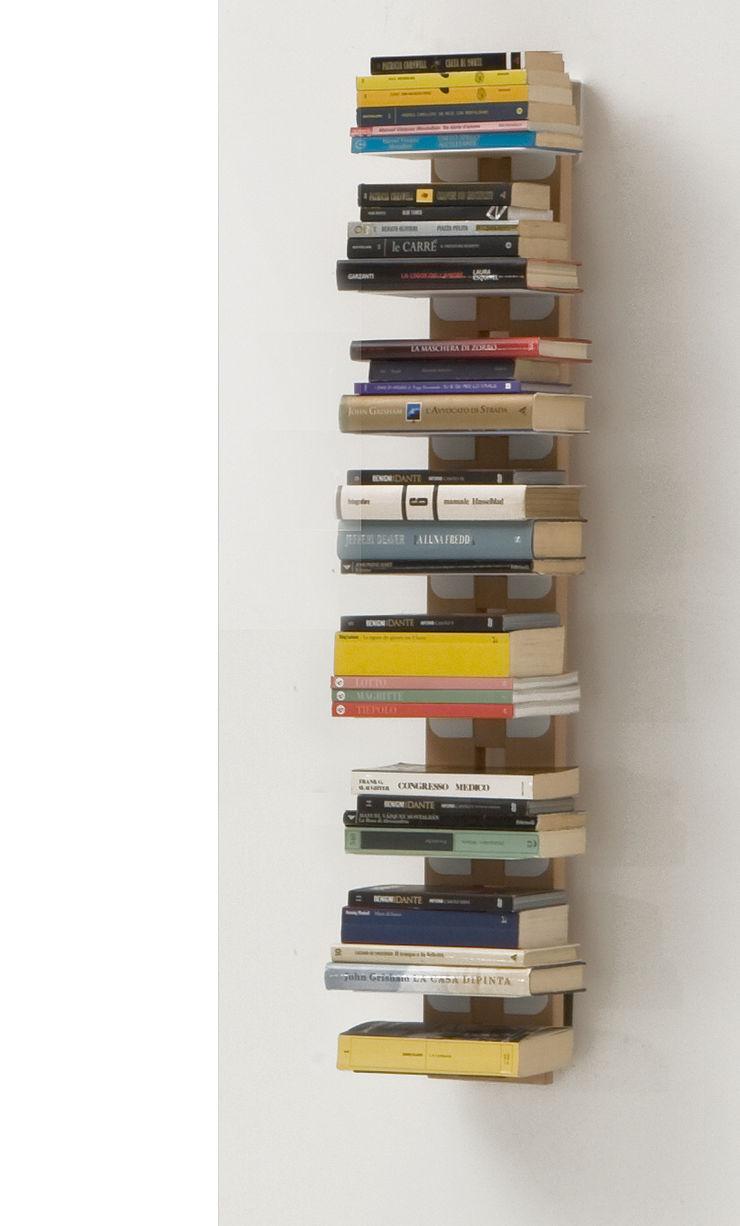 Zia Ortensia | Wall hung bookshelf | h 105 cm Le zie di Milano HogarArtículos del hogar Madera maciza Acabado en madera