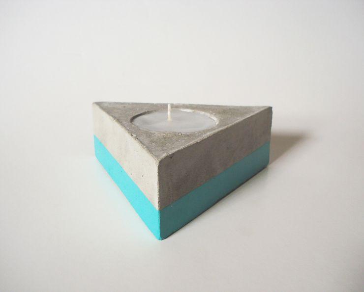 BODOQUE - Diseño en Concreto Living roomAccessories & decoration Turquoise