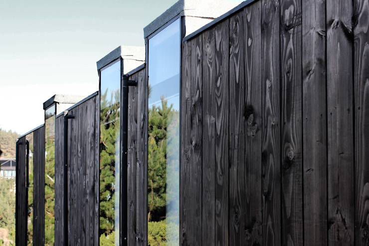ALIWEN arquitectura & construcción sustentable - Santiago Modern Windows and Doors